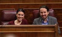 Irene Montero y Pablo Iglesias preparan largas intervenciones para su moción de censura