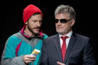César Camino y Eloy Arenas recuperan la obra teatral 'Entiéndeme tú a mí'