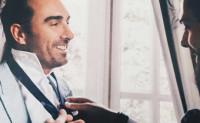 Fidel Albiac y los secretos de su traje de boda