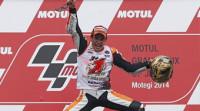 Márquez revalida el título mundial de MotoGP