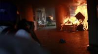 Manifestantes atacan el Congreso de Guerrero e incendian la sala de plenos