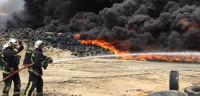 El incendio de Seseña está totalmente confinado