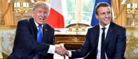 Trump y Macron acuerdan estrechar lazos en cuestiones de seguridad