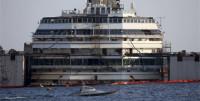 Comienzan las operaciones para terminar de reflotar el 'Costa Concordia'