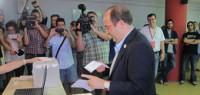 Iceta, ratificado como nuevo líder del PSC con el 85% de los votos