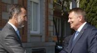 El Rey reconoce la contribución de los rumanos a la economía española