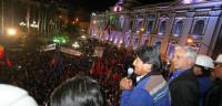 Morales no planea nuevas nacionalizaciones en Bolivia