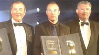 Iniesta, galardonado con el premio Golden Foot