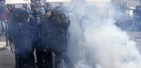 40 heridos durante la protesta por la reforma laboral en París