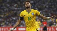 Póker de Neymar y doblete de Messi