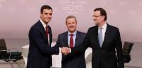 Sánchez acusa a Rajoy de no ser