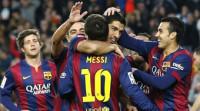 El Barcelona y Messi siguen de fiesta