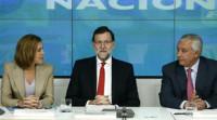 Rajoy coincide hoy en el Comité Ejecutivo del PP con sus 'barones'