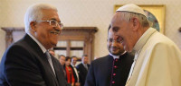 El Papa Francisco recibe en el Vaticano a Abbas,