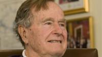 George H.W. Bush, hospitalizado tras romperse una vértebra por una caída