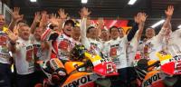 Márquez, campeón del mundo de MotoGP