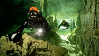 Hallan en el sur de México la cueva sumergida más grande del mundo