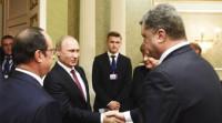 Putin, Merkel y Poroshenko discuten por teléfono el acuerdo de Minsk