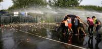Varios detenidos en enfrentamientos en la frontera de Hungría y Serbia