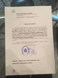 La Fiscalía cita a declarar a la alcaldesa de Girona como investigada