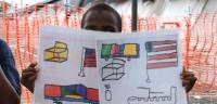 El niño que coloreó su camino hacia la recuperación del ébola