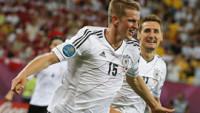 (1-2) La solidez alemana acaba con el sueño danés