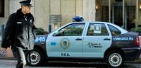 La Policía registra la sede del Banco Central argentino
