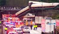 Al menos tres muertos por el descarrilamiento de un tren cerca de Seattle