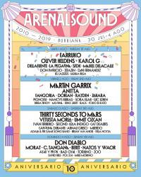 Arenal Sound 2019: Farruko, Anitta, Rayden, Don Patricio y más