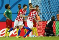 Croacia se crece ante una Camerún desahuciada