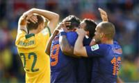 Holanda castiga la osadía de Australia