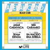 El festival Arenal Sound amplía su oferta con cine, series y monólogos