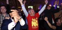 Escocia dice 'no' a la independencia con un 55% de los votos