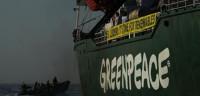 Retenido el barco de Greenpeace que se enfrenta a las prospecciones
