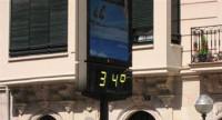 40 grados en el sur peninsular