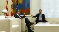 Rajoy y Mas se ven en Gerona