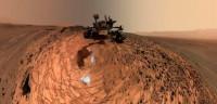 El Curiosity se hace un 'selfie' en Marte