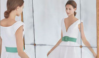 Románticos vestidos de novia CH