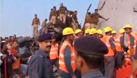 Al menos 116 los muertosen un accidente ferroviario en India