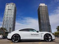 El Porsche Taycan ya circula por Barcelona