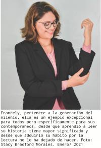 Entrevista a la escritora y periodista nicaragüense, Francely Navarro