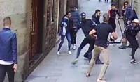 La violencia sangrienta en algunas calles de Barcelona