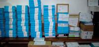 Los cien tomos y 70.000 folios del caso Nóos llegan a la Audiencia
