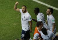 Francia se desata ante Suiza