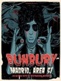 Bunbury publicará el directo 'Madrid Área 51'