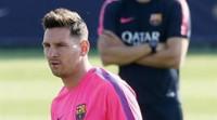 Luis Enrique, sobre el cambio de Messi: