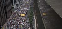 100.000 personas, contra el cambio climático en Nueva York