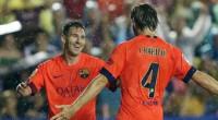 Messi dirige el paseo del Barça en el Ciutat (0-5)