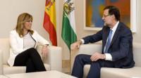 Díaz aborda con Rajoy las prioridades de Andalucía ante el plan Juncker