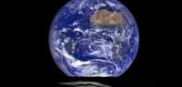 La NASA capta una imagen de la Tierra desde el horizonte lunar